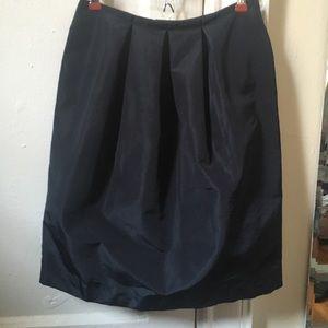 Prada bubble skirt black Sz 6